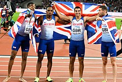 GB 4x100 m team London 2017.jpg
