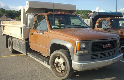 chevrolet c k wikiwand1997 2002 gmc 3500hd cab and chassis with dump body