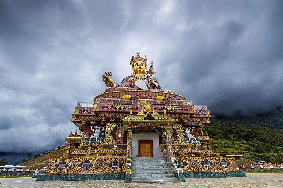 GURU PADMASAMBHAVA Lhuntse, Bhutan