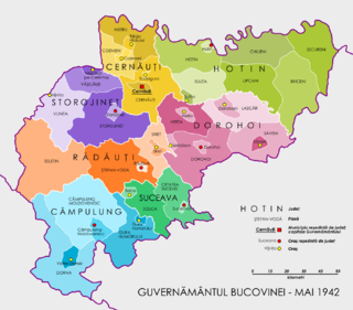 Administrative divisions of the Kingdom of Romania (1941–44)