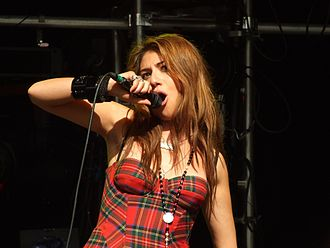 "Xenomania - ""Sweet About Me"", by Gabriella Cilmi (pictured), won an ARIA Award for Best Single."