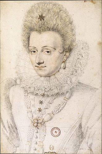 Gabrielle d'Estrées -  Portrait of Gabrielle d'Estrées