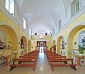 Gaeta, chiesa dei Santi Carlo e Anna - Interno verso la controfacciata.jpg