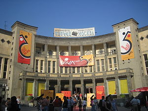 Media of Armenia - Moscow theater in Yerevan