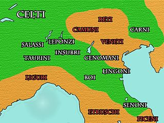 Insubres ancient people of Gaul