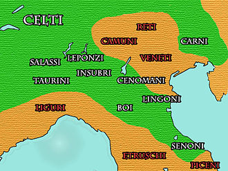 Camunni - Peoples of Cisalpine Gaul 391-192 BC.