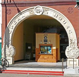 History of Galveston, Texas - Galveston Grand Opera House