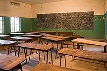 Gambie-Éducation-Gambian classroom