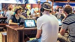 Gamescom 2015 - Hearthstone tournament.jpg