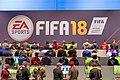 Gamescom EA Sports FIFA18 (36016647834).jpg