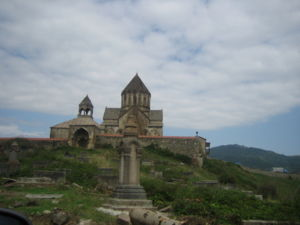 House of Hasan-Jalalyan - The Gandzasar monastery in present-day Martakert, which went on to serve as the family sepulcher and religious See, was completed in 1240.