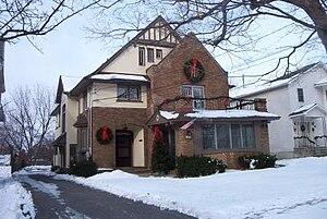Gang House (Syracuse, New York) - Image: Gang Hs 1sm 2007 12 16
