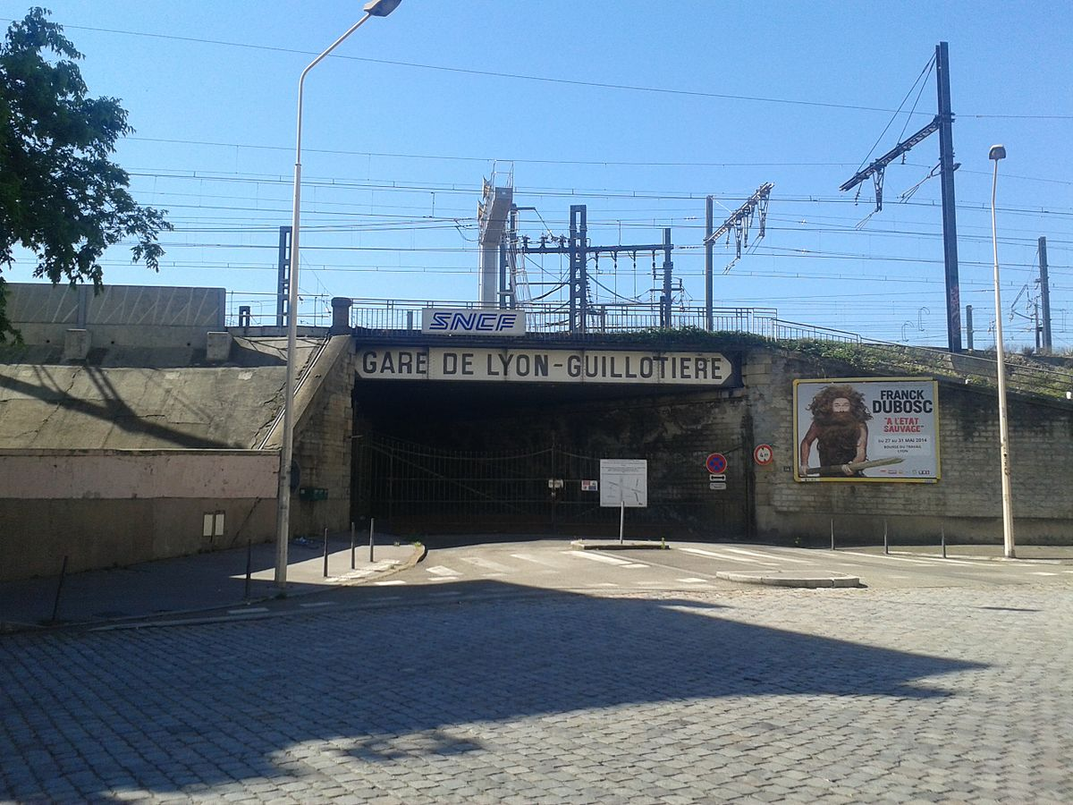 Gare De Lyon Guilloti Re Wikip Dia