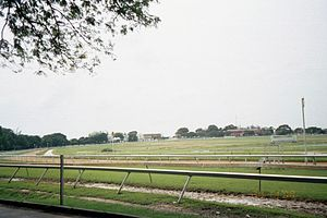Garrison Savannah Racetrack - Image: Garrison Savannah racetrack, Barbados