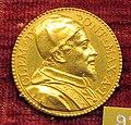 Gaspare morone, medaglia di clemente IX, 1667, oro.JPG