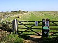 Gate into a field on Butcher's Hill - geograph.org.uk - 71074.jpg