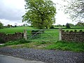 Gate north west of Lovely Hall - geograph.org.uk - 413123.jpg