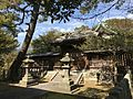 Gate of Sasayama Shrine in Kurume Castle.jpg