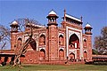 Gateway to the grounds of Taj Mahal, Agra. Utter Pradesh, India. - panoramio.jpg