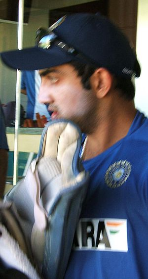 Gautam Gambhir at Adelaide Oval