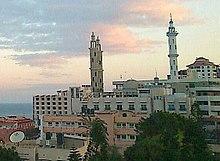 Capital of gaza strip