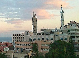 Gaza City - Gaza skyline
