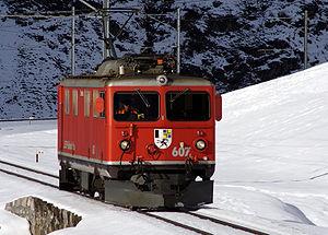 Rhaetian Railway Ge 4/4 I - Ge 4/4 I No. 607 Surselva.