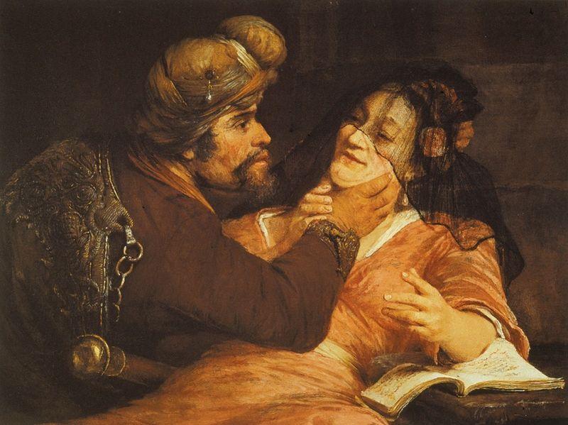 File:Gelder, Aert de - Tamar and Judah - 1667.jpg