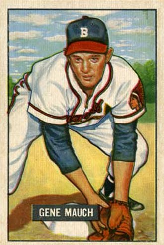 Gene Mauch - Image: Gene Mauch 1951
