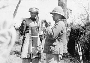 Reginald Wingate - Wingate interrogating the defeated dervish commander Emir Mahmoud after the 1898 Battle of Atbara.