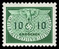 Generalgouvernement 1940 D18 Dienstmarke.jpg
