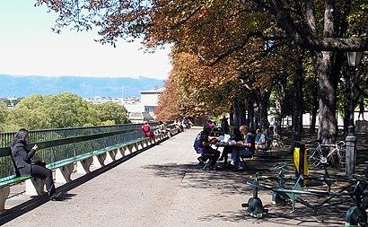 How to get to Promenade De La Treille with public transit - About the place