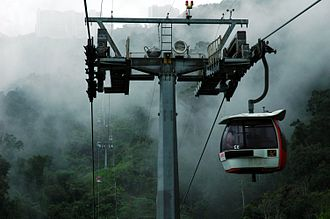 Genting Highlands - Image: Genting Skyway Valley