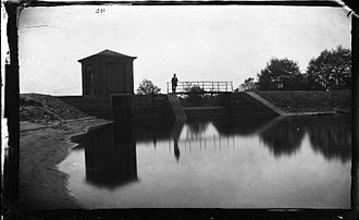 Valley Stream, New York -  George Bradford Brainerd (American, 1845–1887). Gate House, Valley Stream, Long Island, ca. 1872–1887. Collodion silver glass wet plate negative. Brooklyn Museum