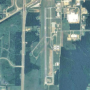 George M. Bryan Airport - USGS 2006 orthophoto
