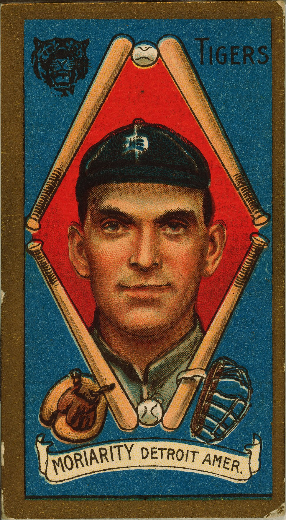 George Moriarty, Detroit Tigers, 1911