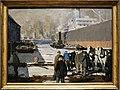 George bellows, uomini al pontile, 1912.jpg