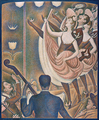 Georges Seurat - Georges Seurat, 1889–90, Le Chahut, oil on canvas, 170 x 141 cm, Kröller-Müller Museum, Otterlo