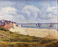 Georges Seurat - Le Crotoy, Downstream PC 196.jpg