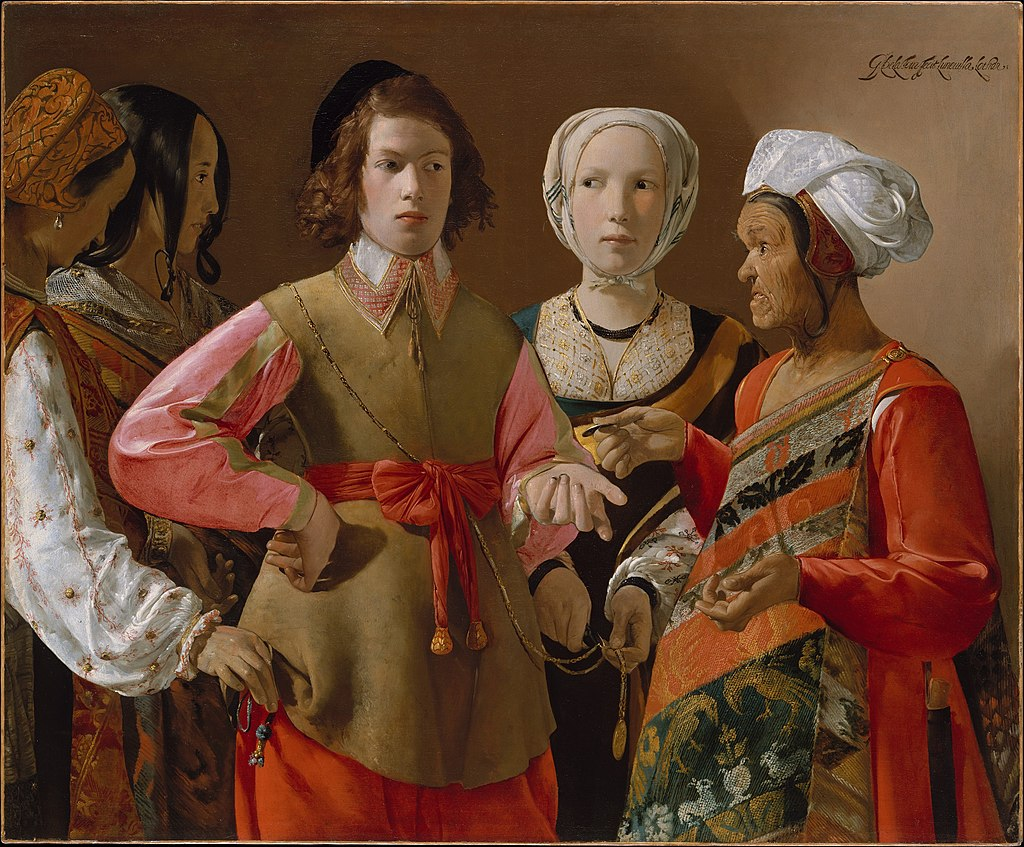"""The Fortune Teller"" by Georges de La Tour"