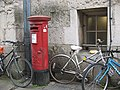 Georgian postbox, Queens Lane, Oxford - geograph.org.uk - 1319798.jpg