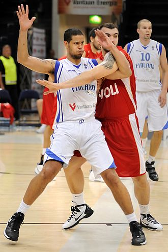Finland national basketball team - Gerald Lee Jr. in 2010