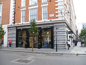 Getty Images - The Getty Images gallery at Eastcastle Street, London.