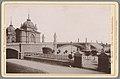 Gezicht op een brug in Mainz Mainz - Die neue Strassenbrücke (titel op object) Die Rheinlande (serietitel op object), RP-F-00-789.jpg