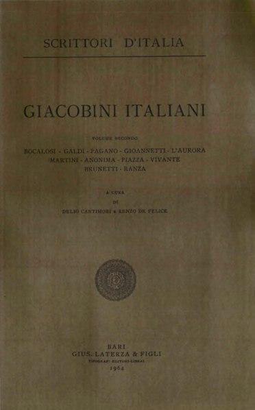 File:Giacobini italiani, Vol. II, 1964 – BEIC 1828515.djvu