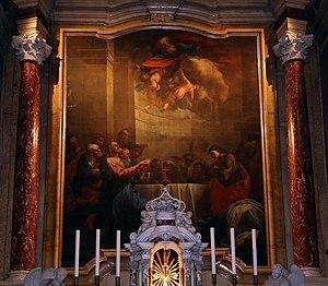 Giacomo Parolini - Last Supper, Ferrara Cathedral