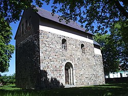 Romanesque church in Giecz