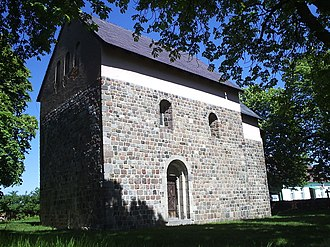 Giecz - Romanesque church in Giecz