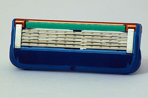 Safety razor - Gillette Fusion five-blade cartridge