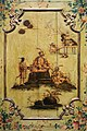 Giovan domenico tiepolo (attr.), porta dipinta con cineserie, 1750 ca., 03.jpg
